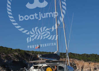 Chartern Sie katamaran in Club Naútico de Sant Antoni de Pormany - Lagoon 470