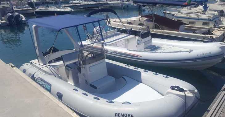 Alquilar lancha Capelli Tempest 625 en Marina Ibiza, Ibiza (ciudad)