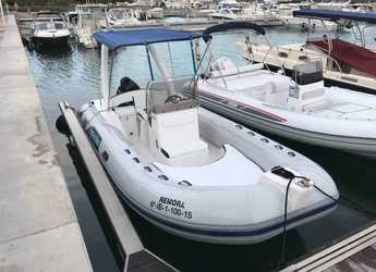 Rent a dinghy in Marina Ibiza - Capelli Tempest 625