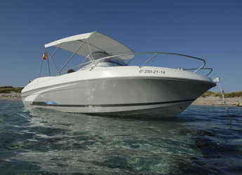 Rent a motorboat in Marina Botafoch - BENETEAU FLYER 650 SUN DECK