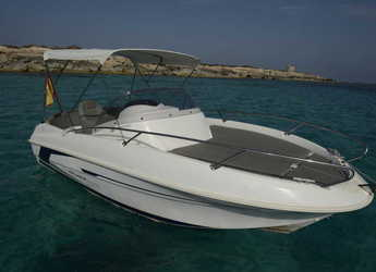 Rent a motorboat in Marina Ibiza - BENETEAU FLYER 550 SUN DECK