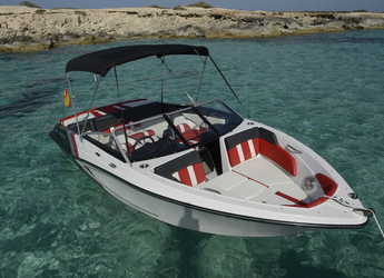 Chartern Sie motorboot  GLASTRON 205 GTS in Marina Botafoch, Ibiza (stadt)
