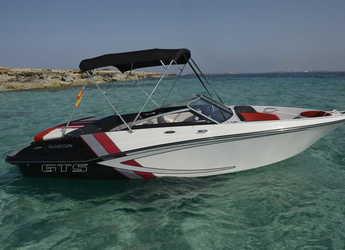 Rent a motorboat  GLASTRON 205 GTS in Marina Botafoch, Ibiza (city)