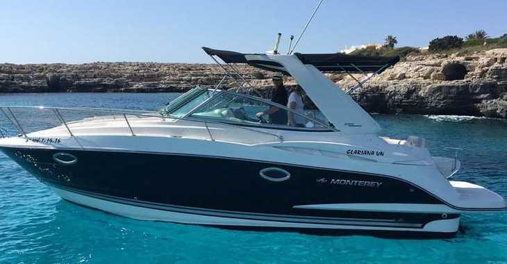 Alquilar lancha Monterrey 295 CR en Port of Ciutadella, Ciutadella de Menorca