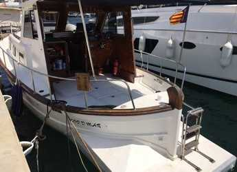 Rent a motorboat Llaut 44 in Port d'andratx, Andratx