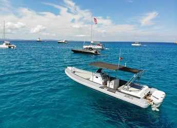 Rent a dinghy in Marina Ibiza - Sacs S33 X-File