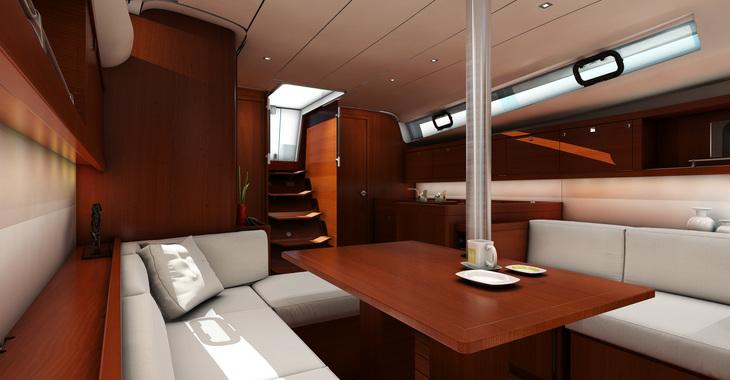 Rent a sailboat Oceanis 41.1 in Marina Cienfuegos, Cienfuegos