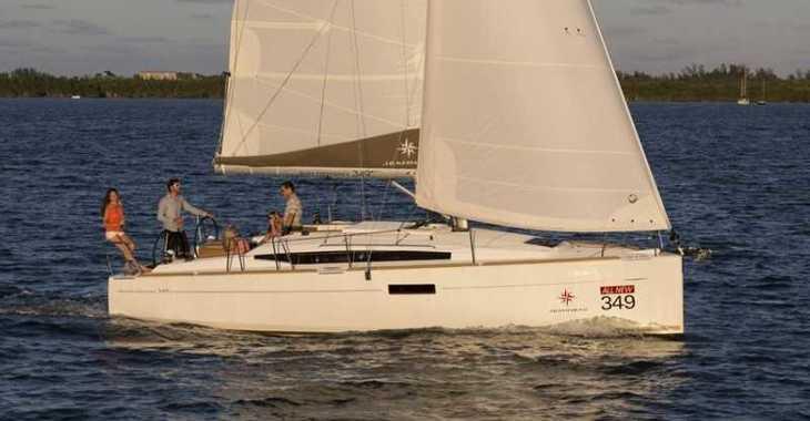 Alquilar velero Sun Odyssey 349 en Cala Nova, Palma de mallorca