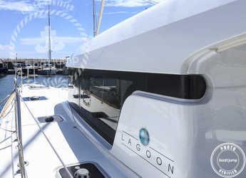 Alquilar catamarán Lagoon 39 en Cala Nova, Palma de mallorca