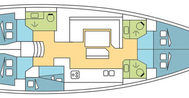 Alquilar velero en Marina di Olbia - Sun Odyssey 519