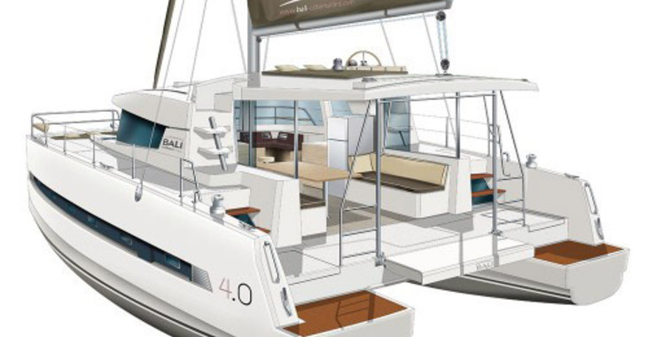 Alquilar catamarán Bali 4.0 en Port Louis Marina, Saint George´s