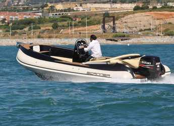 Rent a motorboat in Marina Ibiza - Scanner 710