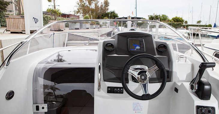 Rent a motorboat in Marina Botafoch - CAP CAMARAT 7.5