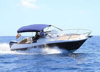 Rent a motorboat CAP CAMARAT 7.5 in Marina Botafoch, Ibiza (city)