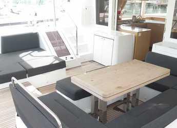 Rent a catamaran Lagoon 52 in Port Purcell, Joma Marina, Road town