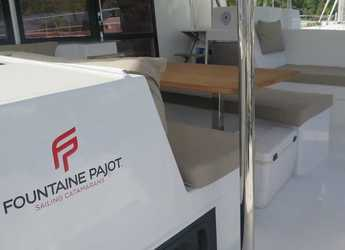 Rent a catamaran Helia 44 in Port Purcell, Joma Marina, Road town