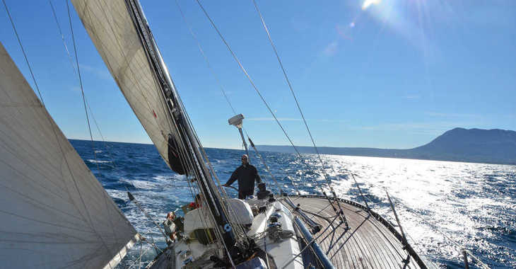 Rent a sailboat in Marina el Portet de Denia - Baltic 42D