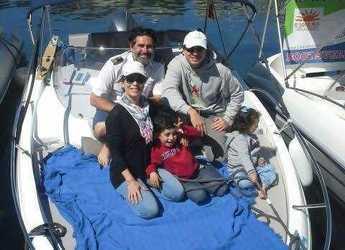 Rent a motorboat Jeanneau cap camarat 5.5 m in Cala Ratjada, Cala Ratjada