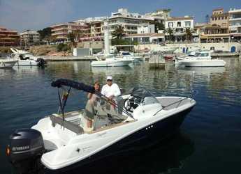Rent a motorboat in Cala Ratjada - Jeanneau cap camarat 5.5 m