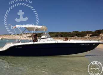 Rent a motorboat in Marina Ibiza - Atomix 8.2 CC