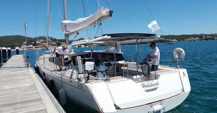 Rent a sailboat in Port Mahon - Beneteau Sense 57