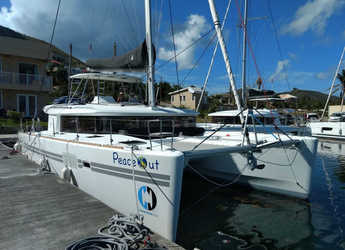 Rent a catamaran in Maya Cove, Hodges Creek Marina - Lagoon 450 F