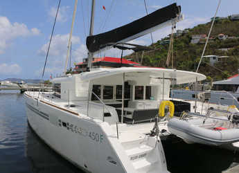 Rent a catamaran in Maya Cove, Hodges Creek Marina - Lagoon 450
