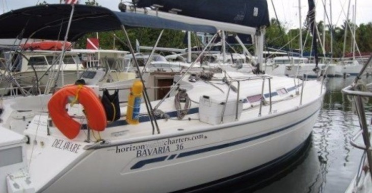 Rent a sailboat Bavaria 36 in Blue Lagoon, St Vincent and the Grenadines