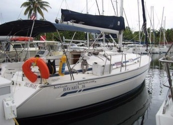 Rent a sailboat in Blue Lagoon - Bavaria 36