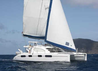 Rent a power catamaran  in Blue Lagoon - Leopard 46