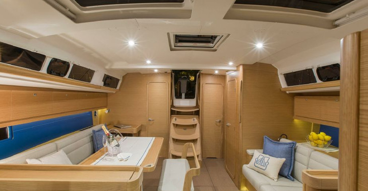 Rent a sailboat in Scrub Island - Dufour 460 Grand Large
