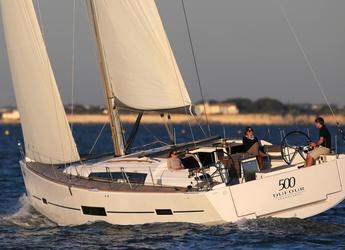 Rent a sailboat Dufour 500 Grand Large in Maya Cove, Hodges Creek Marina, Tortola East End