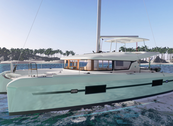 Rent a catamaran Lagoon 42 in JY Harbour View Marina, Tortola East End
