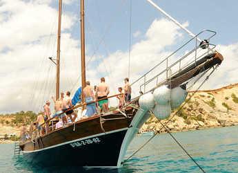 Alquilar goleta Green Gullet en L'Ametlla de Mar, Tarragona