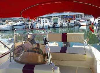 Rent a motorboat Sensacion Viva 600 in Marina Deportiva Alicante, Alicante