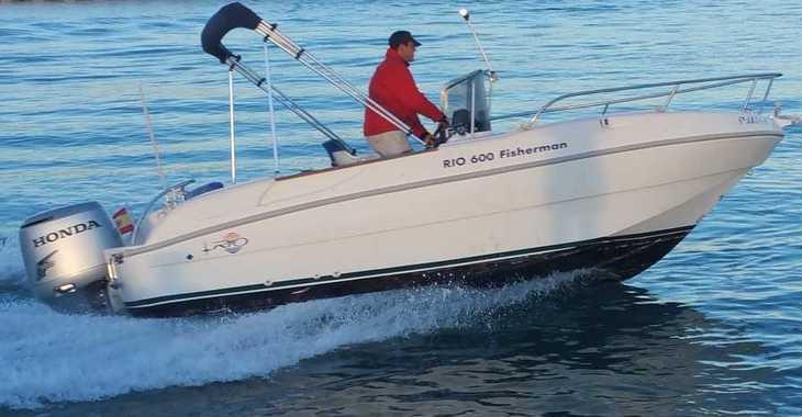 Rent a motorboat in Marina Deportiva Alicante - 600 Fisherman