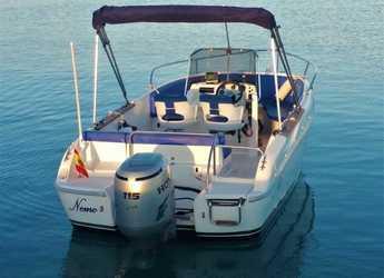 Rent a motorboat 600 Fisherman in Marina Deportiva Alicante, Alicante
