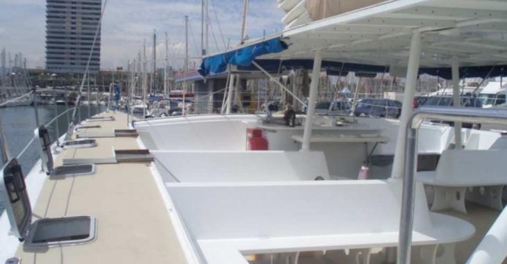 Alquilar catamarán Catamarán vela 80 en Port Olimpic de Barcelona, Barcelona City