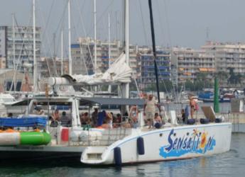 Alquilar catamarán en Port Olimpic de Barcelona - Catamarán vela 97