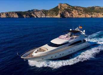 Rent a yacht in Marina Port de Mallorca - Mochi Craft 85