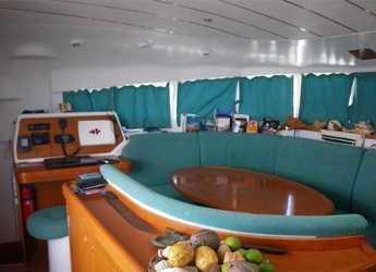 Chartern Sie katamaran Lagoon 410  in Marina Fort Louis, Marigot