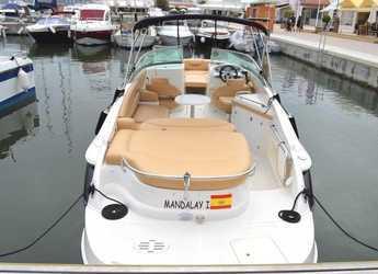 Rent a motorboat Monterrey 268ss in Port of Santa Eulària , Santa Eulària des Riu