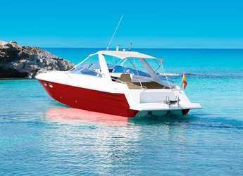 Alquilar yate Sunseeker Tomahawk 37 en Port of Santa Eulària , Santa Eulària des Riu
