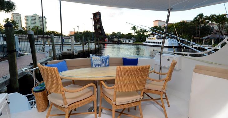Alquilar yate Hateras 75  en Bahamas, Caribe