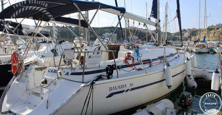 Rent a sailboat in Port Mahon - Bavaria 36