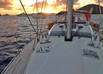 Rent a sailboat Jeanneau 55  in Admiralty Bay, Bequia