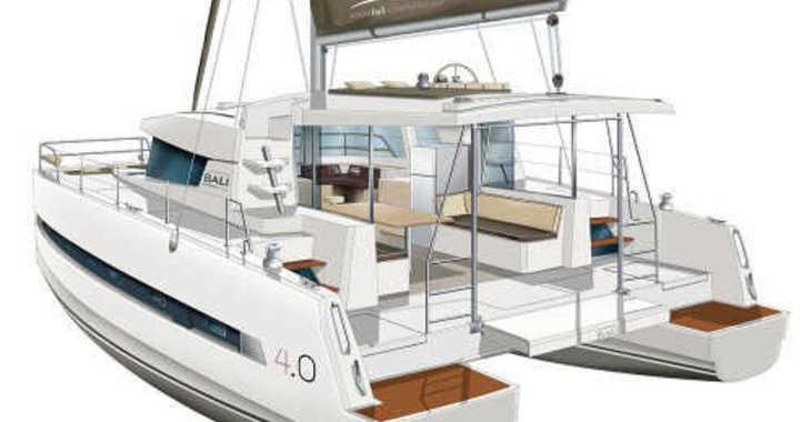 Rent a catamaran in Marina Le Marin - Bali 4.0