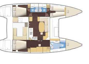 Alquilar catamarán Lagoon 400 S2 en Marina CostaBaja, La Paz