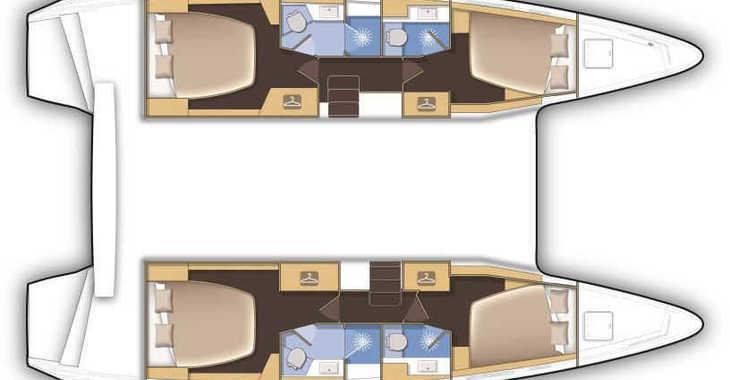 Alquilar catamarán Lagoon 420 en Port Purcell, Joma Marina, Road town