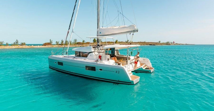 Alquilar catamarán Lagoon 420 en Port Purcell, Joma Marina, Road town